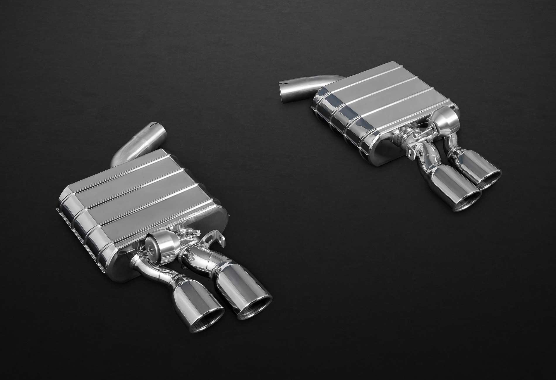 Audi S6 / S7 4G Auspuffanlage mit Klappensteuerung