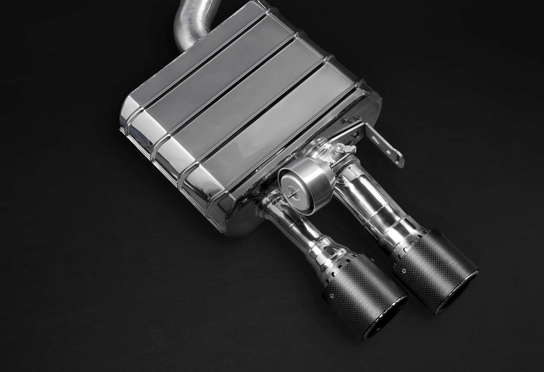 Audi S8 Auspuffanlage mit Klappensteuerung