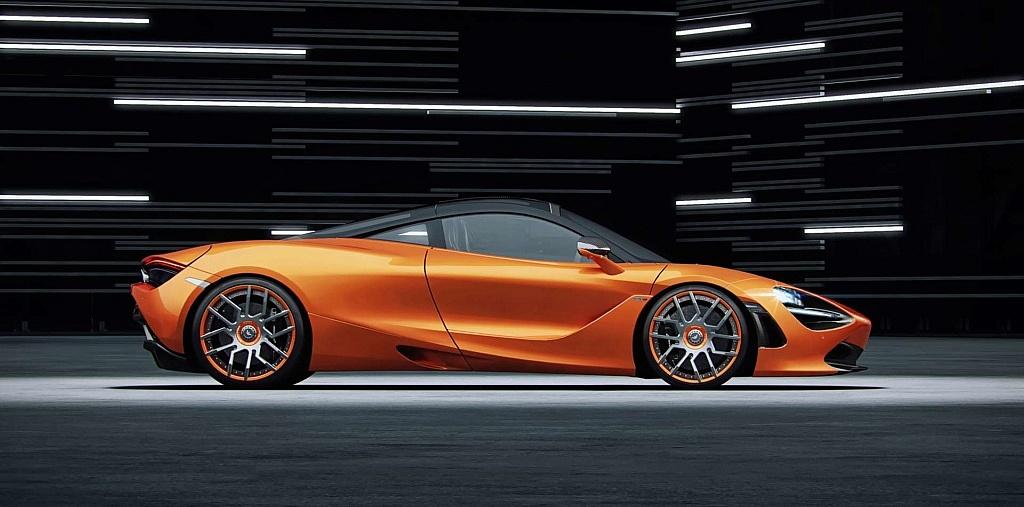 McLaren 720S Tuning by Wheelsandmore mit Schmiedefelgen FORK und