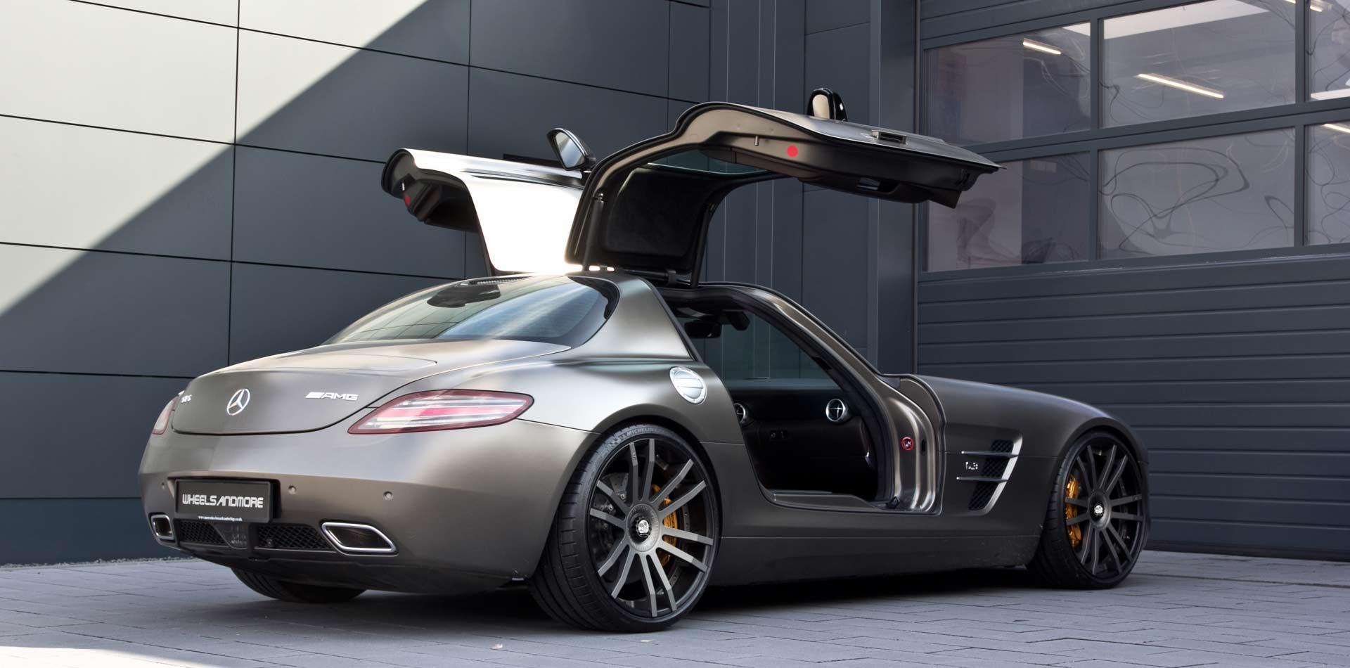 Elegant und breit – SLS AMG by Wheelsandmore mit individuell ang