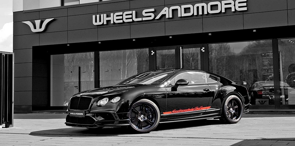 Wheelsandmore Bentley Continental Tuning mit Schmiedefelgen in 2