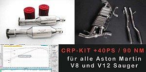 CRP-TUNING-KIT FÜR ALLE ASTON MARTIN V8 + V12 MOTOREN