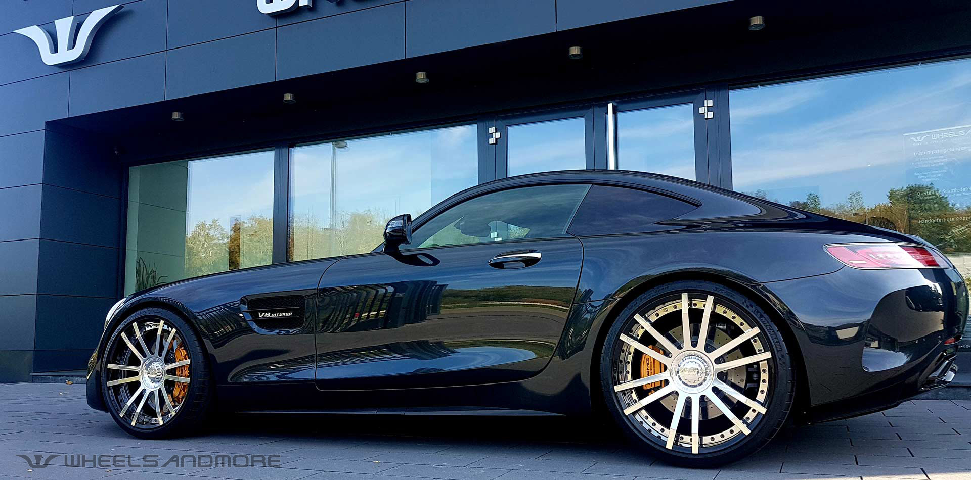 amg gtc tuning wheelsandmore seite