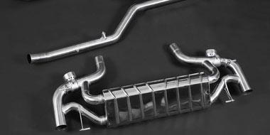 C63 AMG Auspuffanlage mit Klappensteuerung