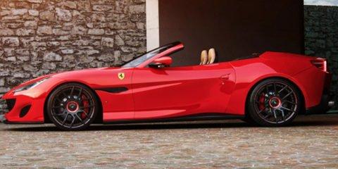 Ferrari Portofino Tuning, Felgen, Auspuffanlage