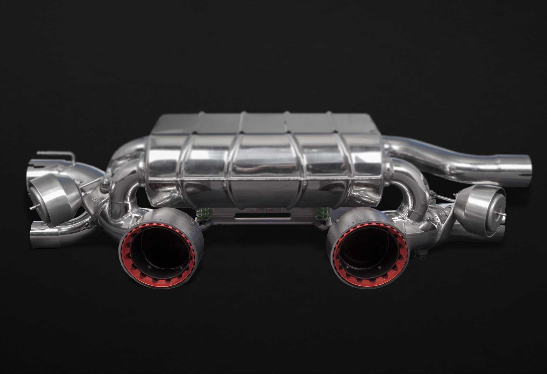 Porsche 991.2 Carrera GTS Auspuffanlage mit Klappensteuerung