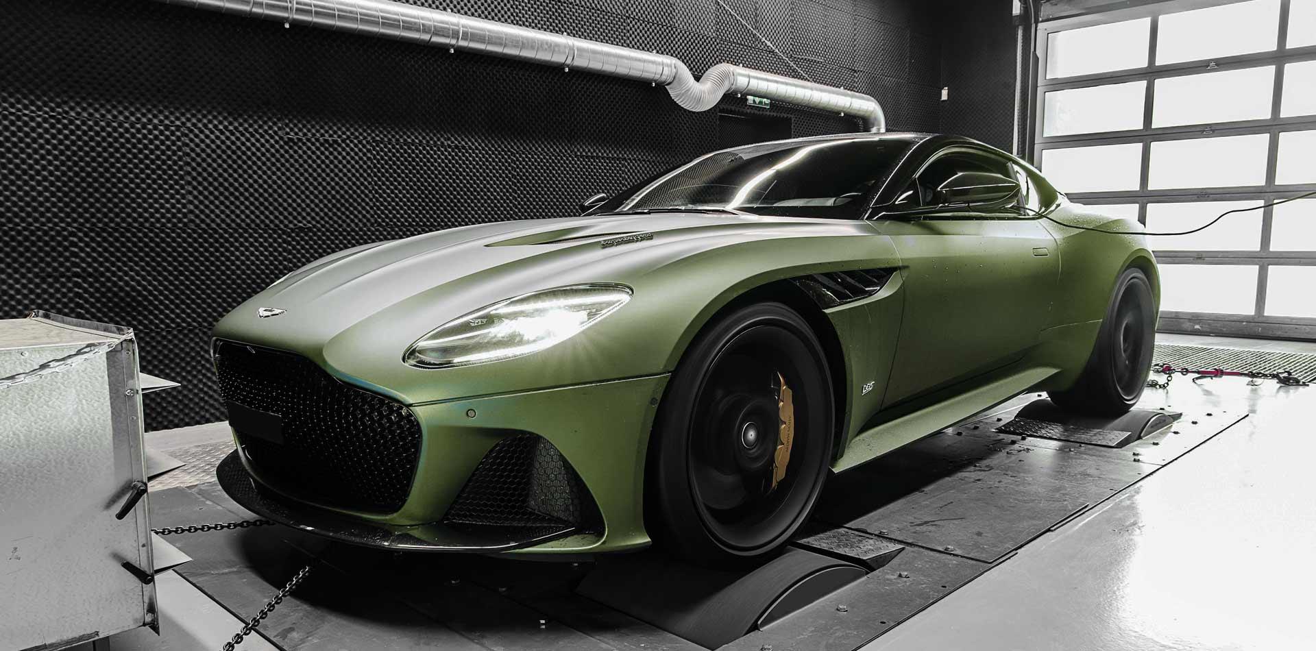 Aston Martin DBS Superleggera Leistungssteigerung
