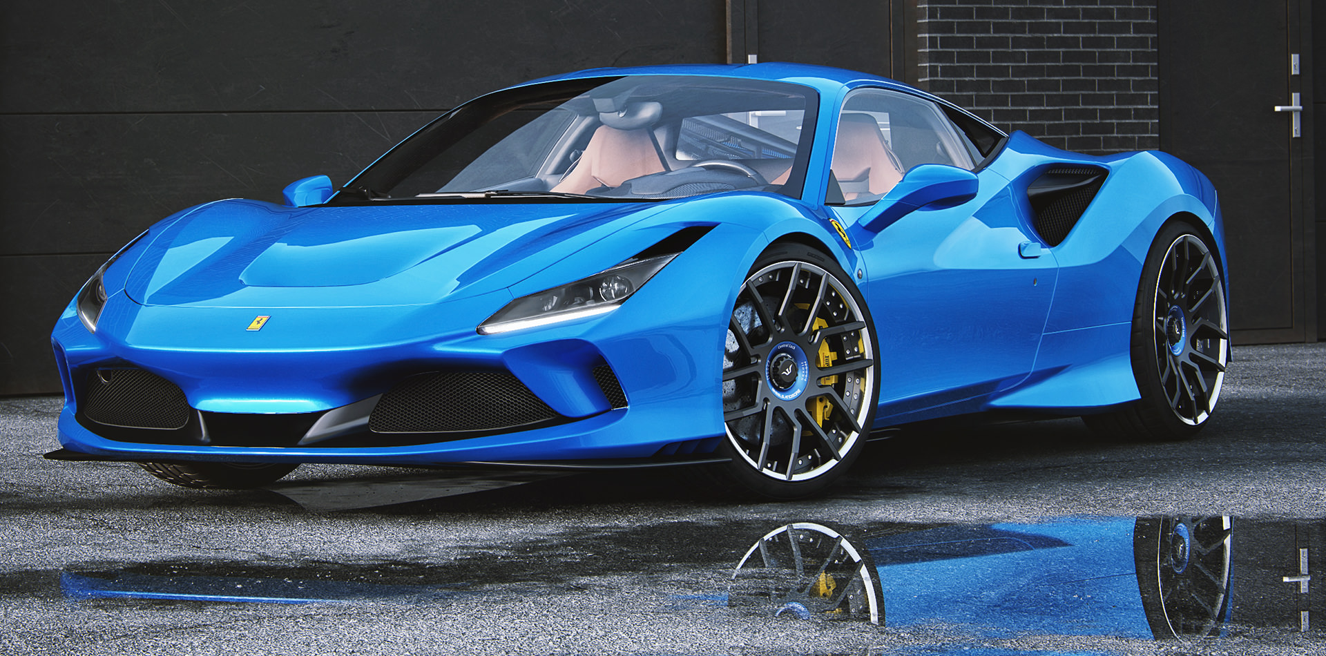 Ferrari F8 Tributo Leistungssmessung auf Prüfstand