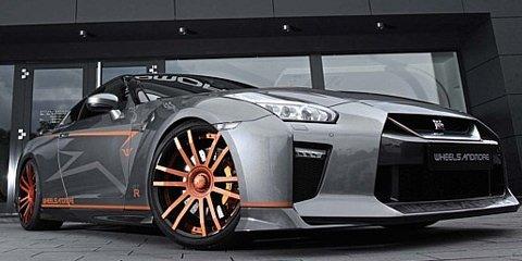 Nissan GTR Tuning, Felgen, Auspuffanlage