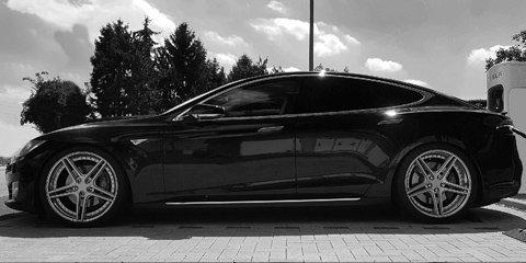 Tesla Model S Felgen und Fahrwerke